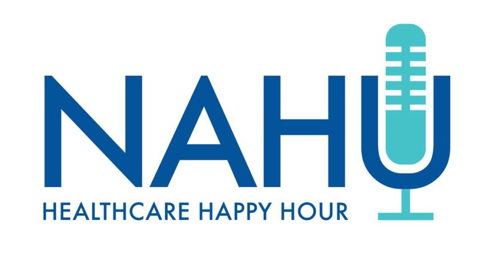 national association of health underwriters healthcare happy hour podcast logo